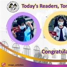 Congratulations to MSQPS Reading Competition Winners (Grades 1-4)